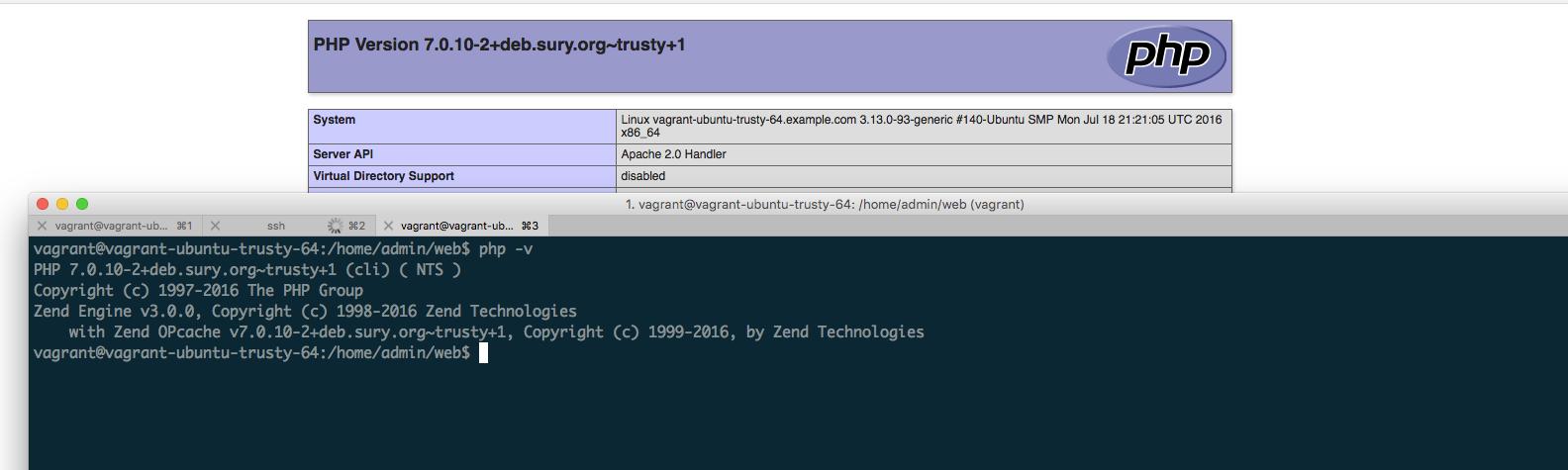 Actualizar php 5.5 a 7.0 en Vestacp - Ubuntu 14.04